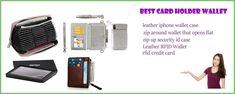 Best card holder wallet Iphone Wallet Case, Rfid Wallet, Rfid Blocking Wallet, Leather Wallet, Zip Ups, Wallets, Zip Around Wallet, Card Holder, Riding Habit