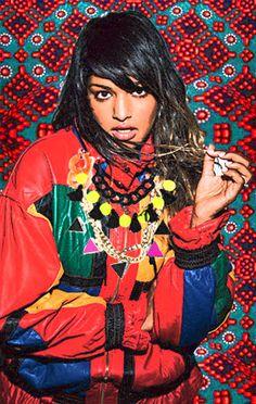 "Mathangi ""Maya"" Arulpragasam, (M.I.A), Songwriter, Painter and Director"