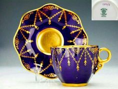 Purple Tea cup