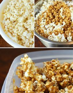 Fall Means Caramel Corn!  Pin it to Save it! #caramel #fall #foodiefiles
