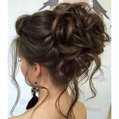 Elstile wedding hairstyles for long hair 58 ❤ liked on Polyvore featuring hair and cabelo
