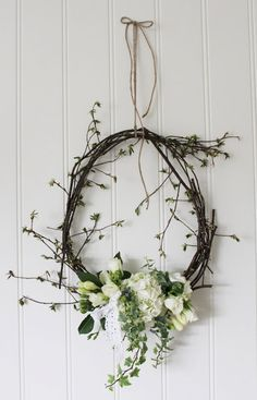 summery wreath for an Australian christmas