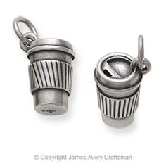 """""""Coffee to Go"""" Charm from James Avery"""