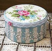 Shabby Chic Interior Design Ideas For Your Home Shabby Chic Boxes, Shabby Chic Crafts, Shabby Chic Interiors, Shabby Chic Decor, Decoupage Art, Decoupage Vintage, Hat Boxes, Pretty Box, Altered Boxes