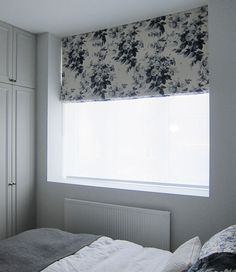 Roman Blind in House Of Hackney London Rose fabric Roman Blinds, Home Furnishings, Curtains, London, Bedroom, Wallpaper, Rose, Gallery, Fabric