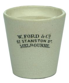 Auction 25 Preview | 737 | Ford Stanston Street Melbourne Dose Cup
