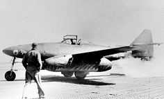 """After this Messerschmitt Me 262 was recovered by Colonel Watson's team, it was nicknamed """"Ginny H"""" and test flown by U.S. pilots. The aircraft is now on display at the National Air and Space Museum (in the Jet Aviation gallery)."""