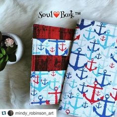 Look at this super cute soul book with matching pocket folder from @mindy_robinson_art !! I love it.  #Repost @mindy_robinson_art with @repostapp.  SoulBook Anchors with matching pocket folder  #planner #planning #plannergeek #plannernerd #planneraddict #plannercommunity #plannerlife #plannergoodies #filofax #filolove #filofaxlove  #mtn #tn #travelersnotebook #paperlove #filofaxgoodies #pageflags #plannergirl #washiaddict #ochremalden #maldenlove  #maldenaddict #prettyplanner #plannergirl…
