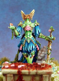 Flower Knight - love these colors