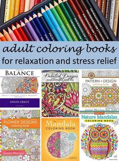 Coloring is one of my new favorite ways to unwind and relax!