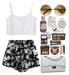 """jealous"" by absolutequeen ❤ liked on Polyvore featuring Giuseppe Zanotti, Chicnova Fashion, Monki, Rolex and Bense Bags"