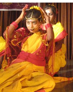 Sponsored children in our Kolkata agency often give dance concerts at their community center. Here a sponsored youth focuses intently on her performance.