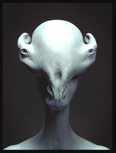 Alien Portrait, Gabriel Beauvais on ArtStation at https://www.artstation.com/artwork/alien-portrait-7193bf24-ffe8-41dc-a6e4-a9693c0d3816