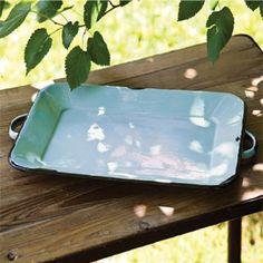 Rectangular Serving Tray   Enamelware Serving Trays   Serving Trays   Decorative Serving Trays
