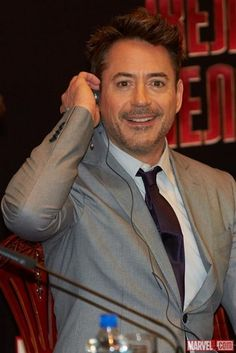 "Ben Kingsley and Robert Downey, Jr. in Moscow on the ""Iron Man 3"" World Tour - robert-downey-jr Photo"