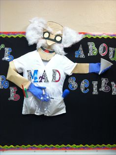 We are MAD about Science bulletin board!