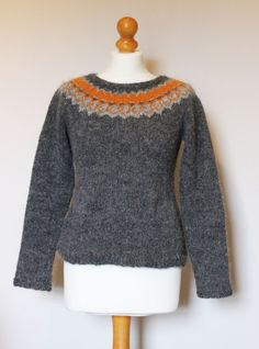 Strokkur by Ysolda Teague, knit in Léttlopi, icelandic cool