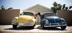 VW Beetle kiss!