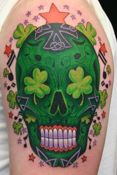 ~Sugar Skull~ Irish version!
