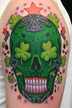 ~Sugar Skull~ Irish version!