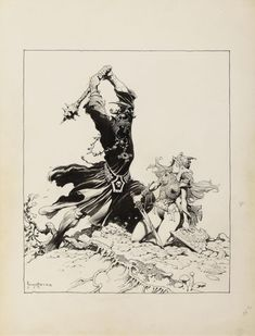 Get Ready To Appreciate The Fantasy Art of Frank Frazetta on a Whole New Level! [NSFW]