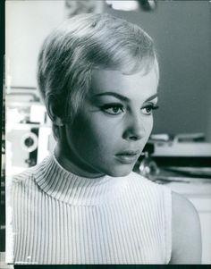 Vintage photo of French actress, Michèle Mercier. - , Dalmas,IMS IMS | eBay
