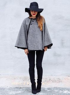 DIY Wrap Cape