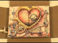 Steampunk Valentine - Mechanical Greeting Card - YouTube