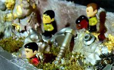 Star Trek Diorama basteln / DIY Anleitung / Mondlandschaft modellieren / Geschenke basteln für Trekkies und Nerds