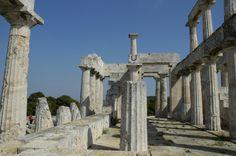 Αίγινα, Ναός της Αφαίας  /  Aegina, Temple of Aphaia
