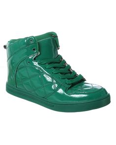 rue21 High Top in green patent leather