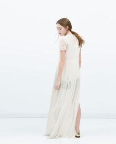 EMBROIDERED TUNIC DRESS-View all-Dresses-WOMAN | ZARA United States