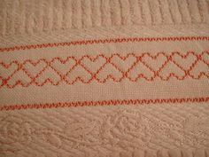 Swedish weaving Huck embroidery Vagonite