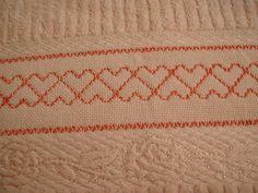 Swedish weaving Huck embroidery Vagonite