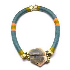 My design inspiration: Iskay Rumi Necklace Aqua on Fab.