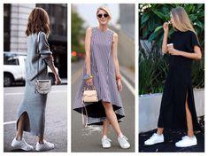 Платья с кроссовками - http://fashiontweaks.ru/