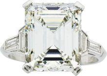 Estate Jewelry:Rings, Diamond, Platinum Ring. ...
