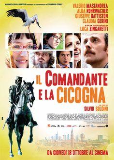 Poster Il comandante e la cicogna