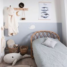 35 Amazingly Pretty Shabby Chic Bedroom Design and Decor Ideas - The Trending House Baby Bedroom, Baby Boy Rooms, Kids Bedroom, Kids Rooms, Childrens Bedroom, Bedroom Desk, Neutral Bedroom Decor, Girl Room, Decoration