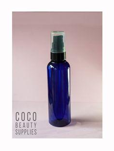 3 pcs 100 ml Cobalt Blue Plastic Pump Bottle by CocoBeautySupplies Cobalt Blue, The 100, Perfume Bottles, Water Bottle, Container, Plastic, Pumps, Unique Jewelry, Handmade Gifts