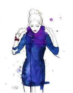 100 Ilustrações de Moda