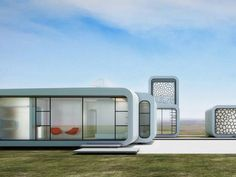 1st 3D Printed Office Building, With 3D Printed Furniture & Interior To Be Built in Dubai http://3dprint.com/77550/dubai-3d-printed-office/