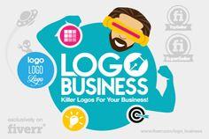 Logo_business will design a killer LOGO, starting at $5 on fiverr.com