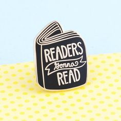 For my fellow book lovers who just cant put their books down! Flaunt your nerdy hobby to the world with this shiny little book enamel pin. My original design, of the highest quality hard enamel with gold plating. Measures x 1 with a rubber clutch. Book Lovers Gifts, Book Gifts, Gift For Lover, Gifts For Bookworms, Literary Gifts, Cool Pins, Metal Pins, Pin And Patches, Pin Badges