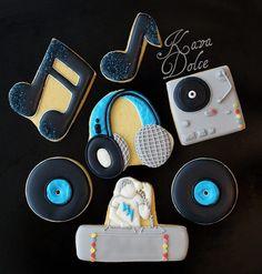 DJ music cookies
