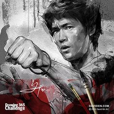 """""""Don't fear failure... In great attempts it is glorious even to fail"""" - Bruce Lee Day 81"""
