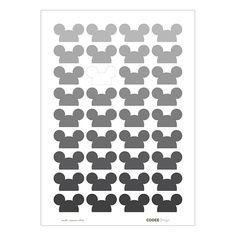 Cooee Design Poster Mouse Multi