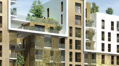 Ecoquartier - Secteur Quartier Gare - Ilot B2 - Atelier Roche architectes