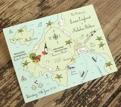 I've just found Wedding Or Party Map Full Colour Postcard. These full colour custom made Cute Map postcards are an impressive way to paint a picture of your special day.. £1.70