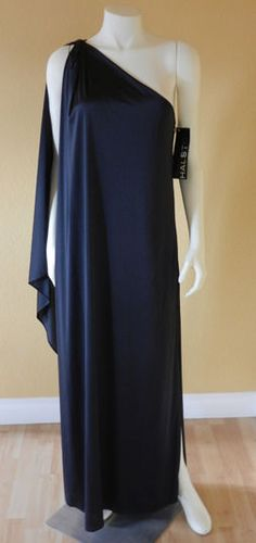 vintage halston black gown - dresses - Pinterest - Vintage- Black ...
